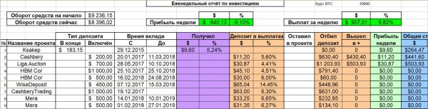 total, deposit, invested, project, month, first, received, payments, amount, Amazing, report, Report, entire, history, standard, usual, accounting, unprofitable, since, February