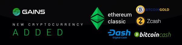 Bitcoin, BITCOIN, CLASSIC, ETHEREUM, ZCASH, Максимальный, составит, Zcash, Classic, Ethereum, криптовалют, депозит, популярных, новости, отличные, Systems, Gains, Теперь, вывод, помощью