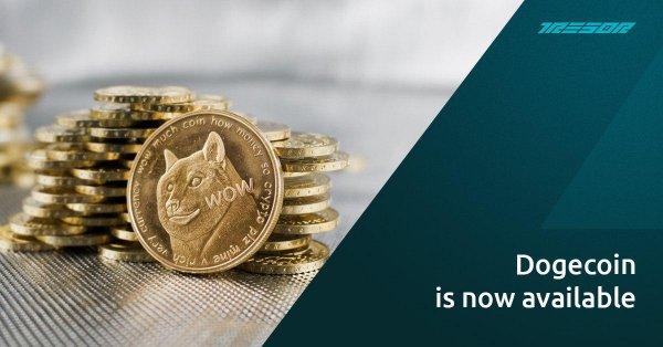 доступна, средств, популярная, криптовалюта, Dogecoin, вывода, ввода, Capital, Tresor, отличные, новости, Теперь, проекте