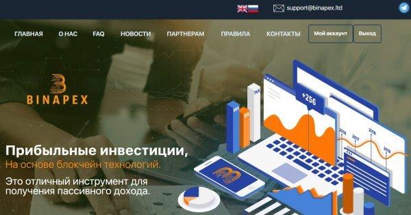 Проект, Binapex, продолжает, развиваться, Теперь, вывод, средств, доступен, помощи, Mastercard, гривнах