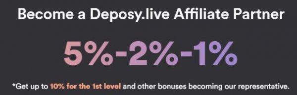 deposy.live, deposy live, обзор, отзывы, инвестиции, вложения, хайп, страховка, рефбек, рефбэк, hyip, rcb
