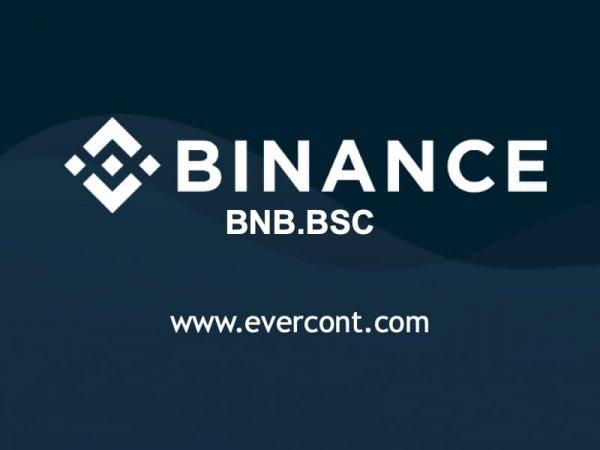 проекте, Evercont, отличные, новости, Теперь, вывод, средств, можно, осуществлять, помощи, популярной, криптовалюты, BinanceCoin